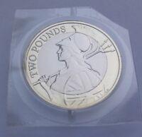 2015 Royal Mint Britannia Definitive £2 Two Pound Coin BU - BUnc - Low mintage