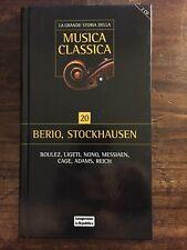 LA GRANDE STORIA DELLA MUSICA CLASSICA - 20 - BERIO, STOCKHAUSEN, BOULEZ...