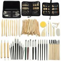 3-38pcs Clay Sculpting Set Wax Carving Pottery Tools Shapers Polymer