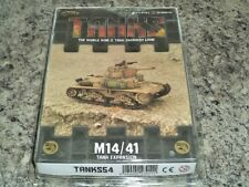 TANKS Italian M14/41 Tank Expansion Galeforce Nine War Board Game New!