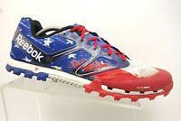 Reebok H2O Drain USA Flag Theme Athletic Sport Trail Running Shoes Men's 11.5