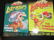ASTROSAURS.THE ROBOT RAIDERS+THE CLAWS OF CHRISTMAS BY STEVE COLE