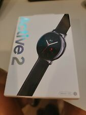 Samsung Galaxy Watch Active 2 SM-R825 44mm Stainless Steel Case with Leather Str