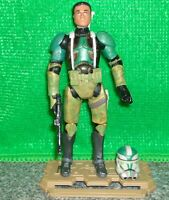 Star Wars Kashyyyk CLONE COMMANDER GREE 2011 Vintage Collection Action Figure