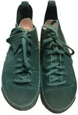 Clarks Originals Trigenic, Dark Green Suede, Size 10.5 UK