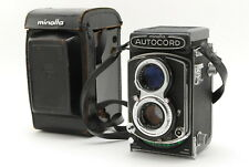 【EXC+++++】Minolta Autocord TLR Camera w/ Rokkor 75mm f3.5 Lens From Japan 422