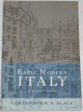 EARLY MODERN ITALY Italian History Christopher Black Renaissance Enlightenment