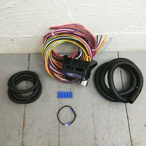 Wire Harness Fuse Block Upgrade Kit for NO RESERVE Jeep hot rod street rod