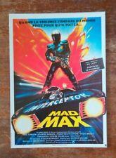 carte postale cinéma film Mad Max Mel Gibson