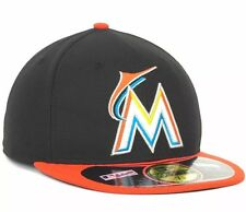 Miami Marlins New Era 5950 Diamond Collection Fitted hat size 7 5/8