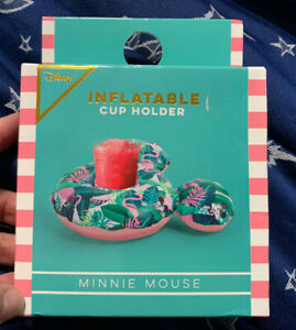 Disney Inflatable Cup Holder - Minnie Mouse New In Box