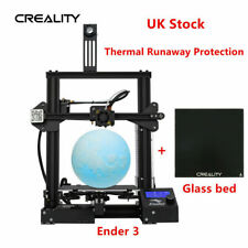 Creality Ender 3 3D Printer + Glass Bed 220X220X250mm Thermal Runaway Protection