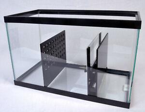 REFUGIUM KIT - 10 Gal 15 Gal 20 Gal Adjustable Depth Aquarium Sump Baffle Kits
