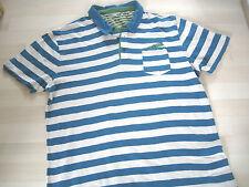 Ted Baker Men's Regular Short Sleeve Striped Casual Shirts & Tops
