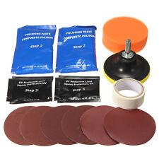 14x Car Headlight Lens Restoration System Sponge Disc Repair Kit Light Polishing