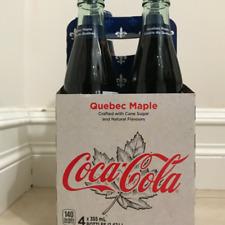 Maple syrup Coca Cola, Coca Cola Quebec Maple , full bottles, unique Canada