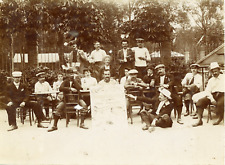 Belgique, Jambonneurs, ca.1900, vintage citrate print Vintage citrate print