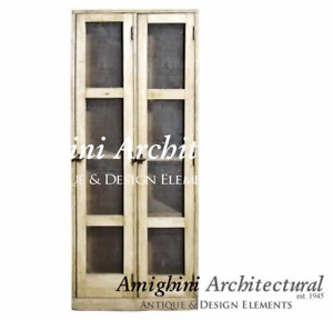 C – Antique Wardrobe Two Right Hand Doors with Screen. A3107