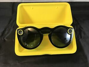 SNAP INC, SNAPCHAT SPECTACLES CAMERA SUNGLASSES WITH CASE, NO CABLE, EXC