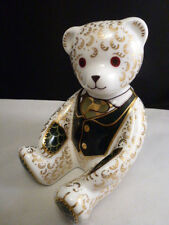 Royal Crown derby  HARRODS  BEAR TEDDY EXCLUSIVE   EXCELLENT