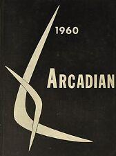 1960 ARCADIAN  Yearbook Arcadia High School Ohio