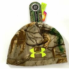 Under Armour UA Scent Control Infrared Realtree Hunting Camo Beanie Cap 1247312