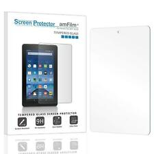 Kindle Fire 7 amFilm Premium Tempered Glass Screen Protector (1 Pack)