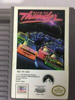 NES Days of Thunder NINTENDO VIdeogame Cartridge w/ Official Game sleeve