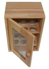 Small Egg Cupboard Storage Box For Eggs 25x18x12cm Wooden Storage Cupboard