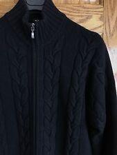 KITON Men's 100% Cashmere Zip Cardigan Sweater 40