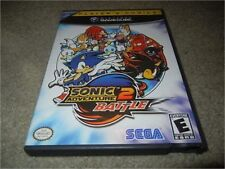 SONIC ADVENTURE 2 BATTLE NINTENDO GAMECUBE GAME W/ CASE PLAYER'S CHOICE