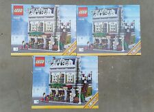 INSTRUCTIONS ONLY Lego 10243 Parisian Restaurant - Instructions ONLY