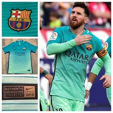3B6 Nike Player Issue 2016-17 3rd Barcellona Calcio Camicia Taglia XL 776848-388