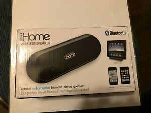 iHome iDM12 Portable Bluetooth Wireless Speaker for iPad/iPhone Brand New