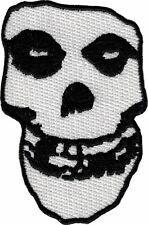 6188 The Misfits Crimson Ghost Skull Punk Rock Horror Spooky Sew Iron On Patch
