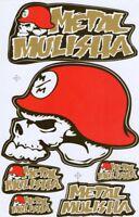 New Metal Mulisha Motocross Racing Graphic stickers/decals. 1 sheet (st88)