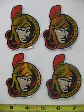 Ottawa Senators NHL Hockey Logo Stickers Rare Lot of 4