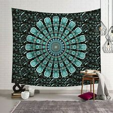 Indian Mandala CottonBedspread Hippie Wall Hanging Bohemian Home Decor Tapestry