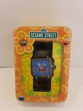 GROVER WATCH Sesame Street wristwatch FADA 2003 NIB