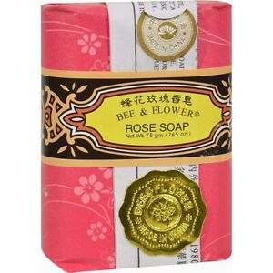 Bee & Flower Bar Soap Rose
