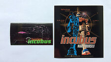 INCUBUS 2-Pack of Stickers Logo & Make Yourself NEW OFFICIAL MERCH RRP$10.70 !!!