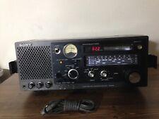 New ListingSony Fm-76-90Mhz/Mw/Sw 5Band Receiver Model No Icf-6700, Good Condition.