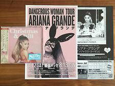 Le Japon Bonus +2017 Calendar +5x Flyers! Ariana Grande Christmas & Chill CD