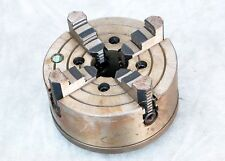 """Seagull 4 Jaw Chuck 8"""" with Plate Adapter for Lathe metal clamp mill"""