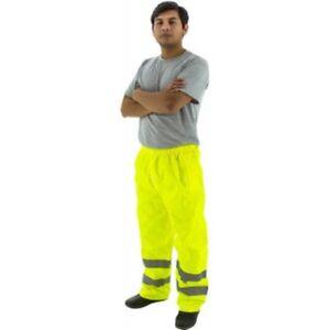 M-SAFE HI VIS RAIN PANTS / ANSI - ISEA107-2010 CLASS E/FREE SHIPPING