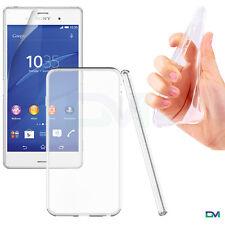 Sony Xperia Z3 Smart Phone Ultra Thin Clear Soft Gel TPU Bumper Case Cover