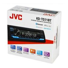 JVC KD-TD71BT 1-DIN Car In-Dash CD Bluetooth Multimedia Receiver w/ Amazon Alexa