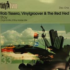 UKDJ Rob Tissera - Vinylgroover & The Red Hed - Stay Original Mix Vinyl Record
