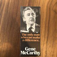 1972 Minnesota Senator Eugene McCarthy for President BROCHURE POLITICS ELECTIONS