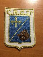 SPAIN PATCH POLICE POLICIA C.R.G. 21 - ORIGINAL!